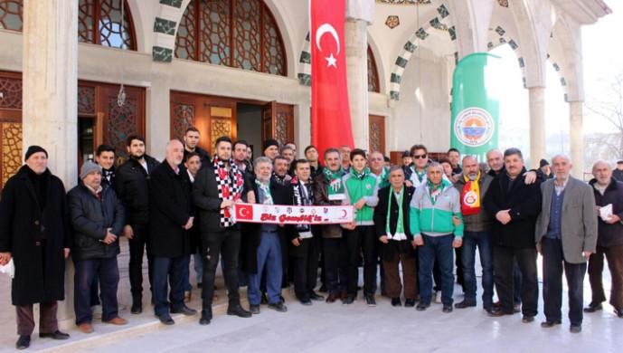 Bursa'daki Beşiktaşlılardan şehitler için mevlit
