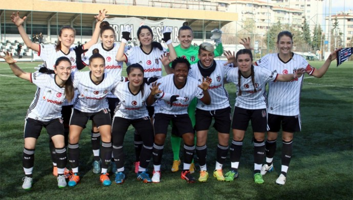 Beşiktaş ''kadın futbolda'' lider!