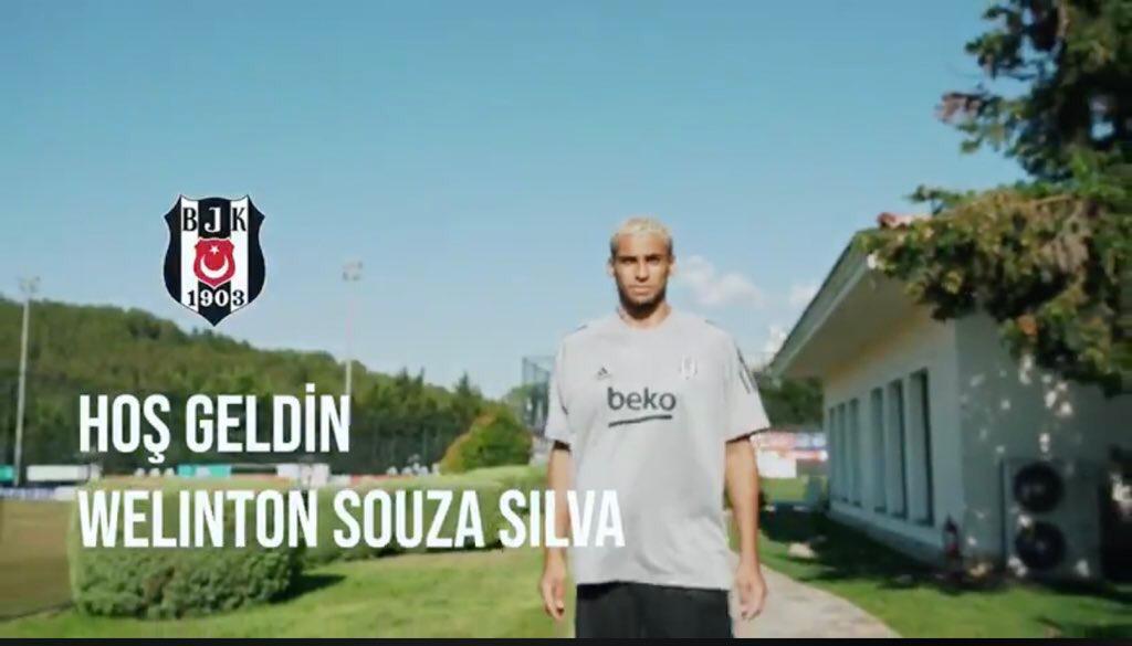Beşiktaş'ın yeni transferi Welinton'dan rakiplerine gözdağı