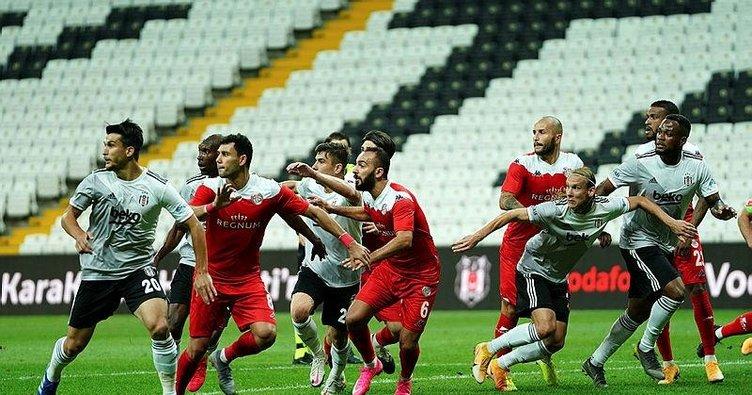 Beşiktaş sahasında puan bıraktı