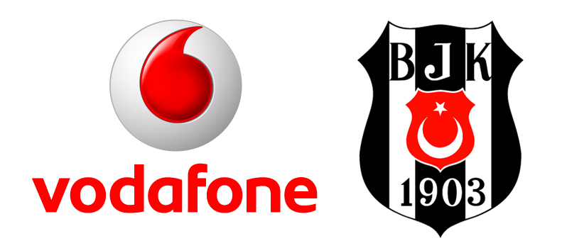 Vodafone, Beşiktaş'a desteğini sürdürüyor