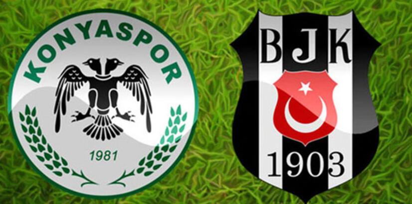 Konyaspor-Beşiktaş maçı muhtemel 11'leri