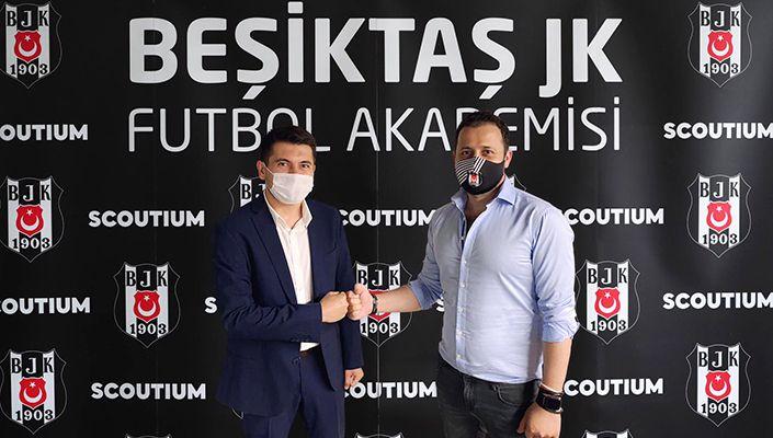 Beşiktaş ile Scoutium arasındaki iş birliğinde yeni dönem