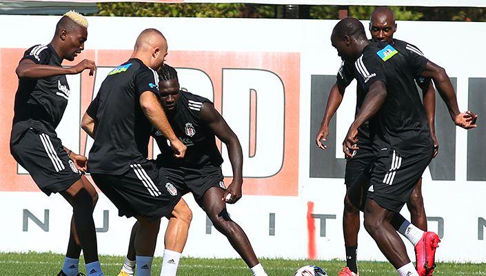 Beşiktaş, Gençlerbirliği maçı hazırlıklarını sürdürüyor