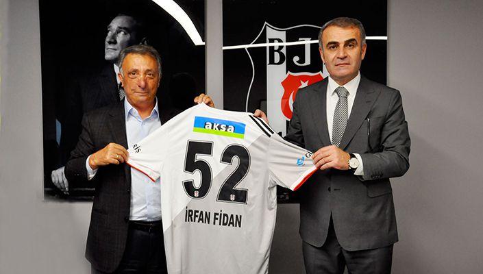 İstanbul Cumhuriyet Başsavcısı İrfan Fidan'dan Beşiktaş'a ziyaret
