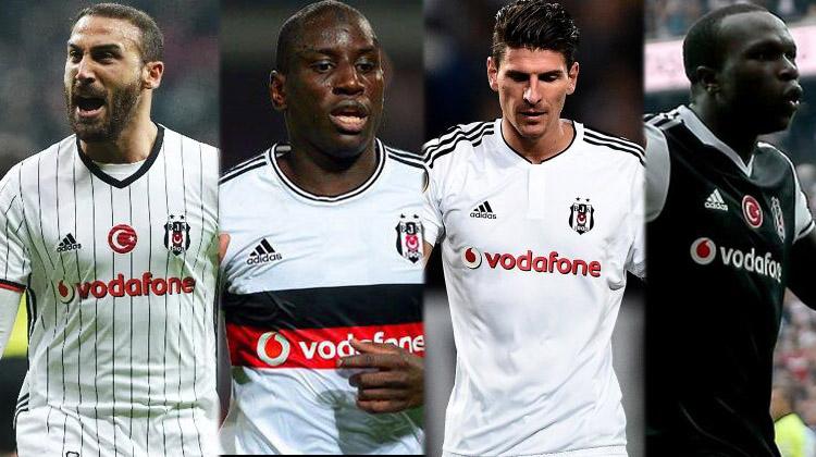 ''FEDA'' döneminden bu yana Beşiktaş'ın forvet performansları