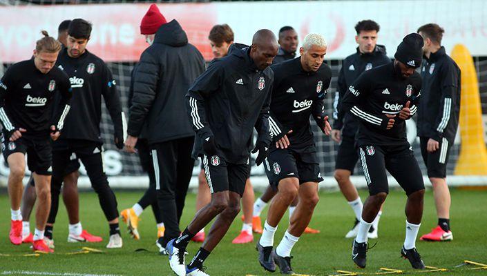 Beşiktaş, Fenerbahçe maçı hazırlıklarını tamamladı