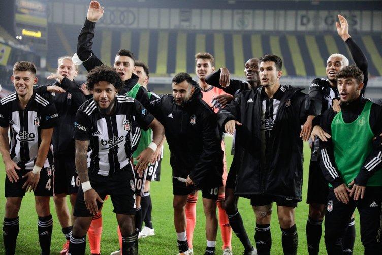 Beşiktaş'ta derbi zaferinin şifresi: Ekranlar…