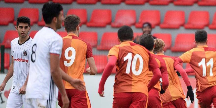 Beşiktaş U19 G.Saray karşısında mağlup!