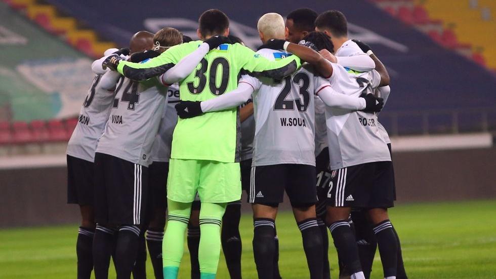 Beşiktaş'ın Karagümrük karşısındaki 11'i belli oldu!