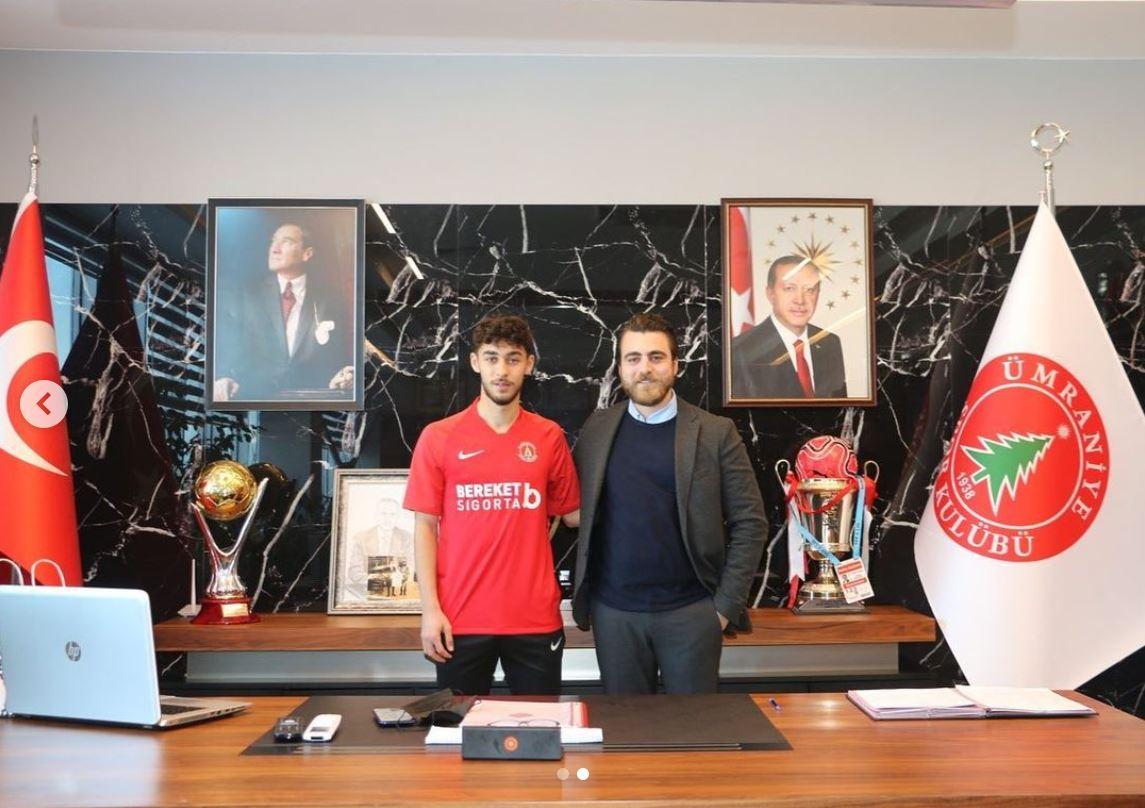 Ümraniyespor'a kiralık olarak giden Kartal Kayra'dan açıklama