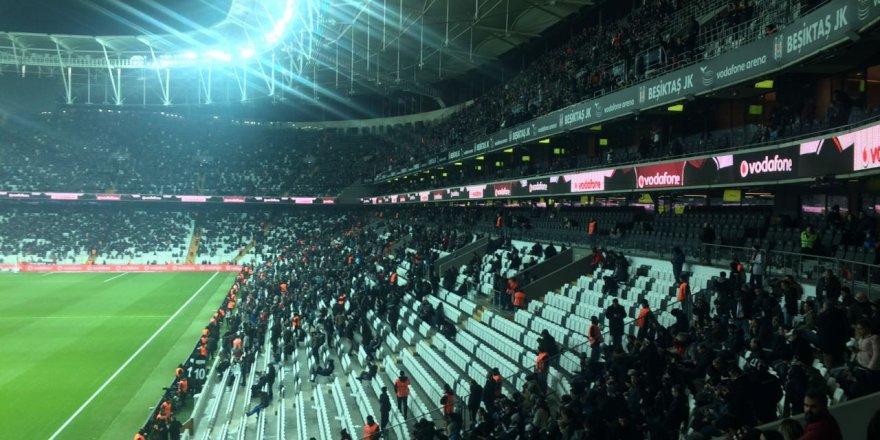 Beşiktaş - G.Antepspor maçına ilgi düşük kaldı