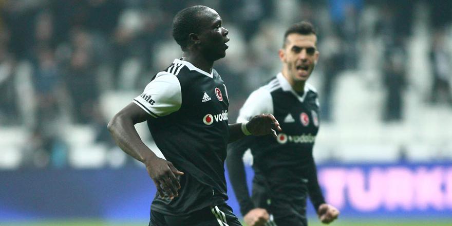 Maçın yıldızı Aboubakar