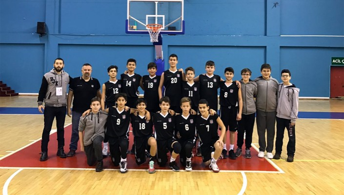 Basketbolda Beşiktaş'ın altyapısı başarısıyla dikkat çekiyor