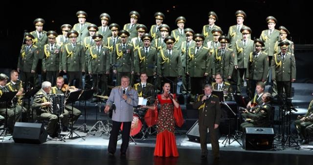 Vodafone Arena'da Kızıl Ordu Korosu anıldı