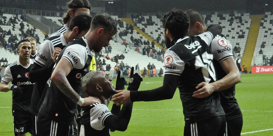 Beşiktaş bir üst turda! İşte maçta yaşanan önemli dakikalar
