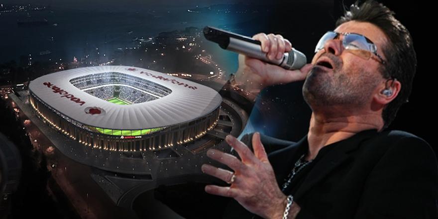 Vodafone Arena'da George Michael da unutulmadı