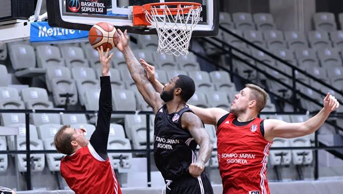 Beşiktaş basketbolda Trabzon'a hazırlanıyor