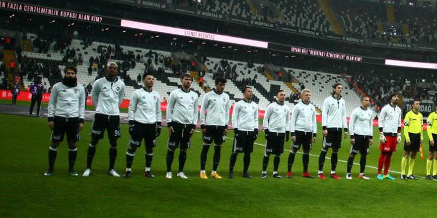Beşiktaş'ta tatil başladı