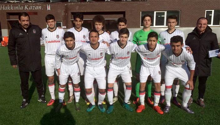 Beşiktaş, Gölcükspor'u 6-1 mağlup etti