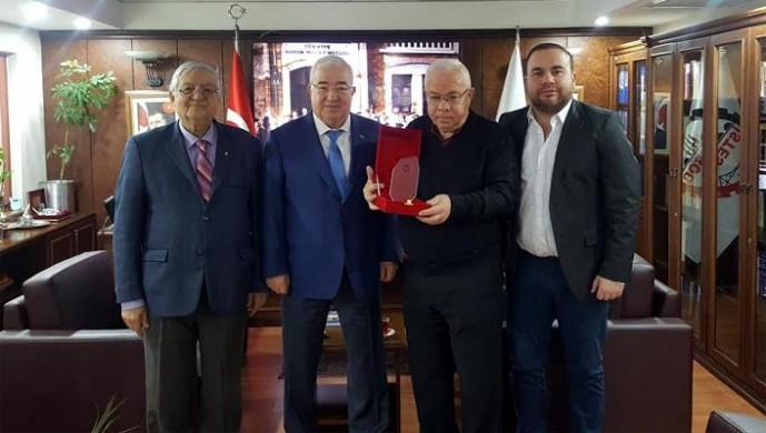 Bakırköylü Beşiktaşlılar'dan ziyaret