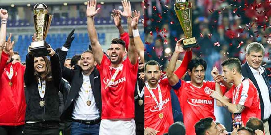 Beşiktaş'ın rakibi kupayı kaldırdı