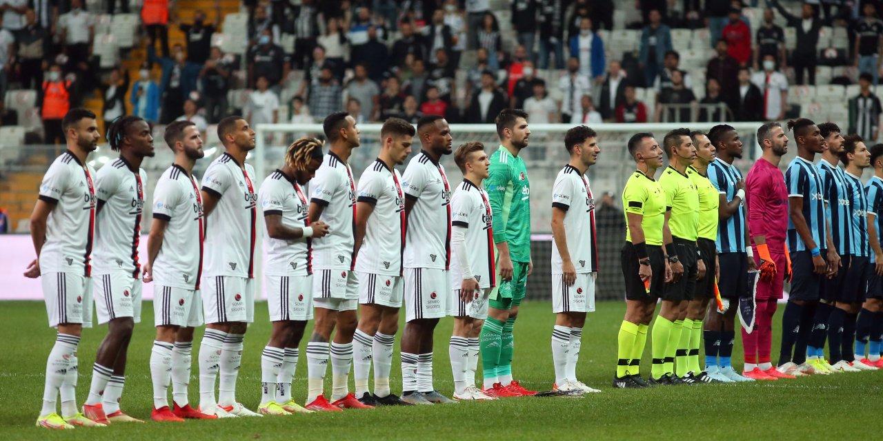 Beşiktaş üstünlüğünü koruyamadı