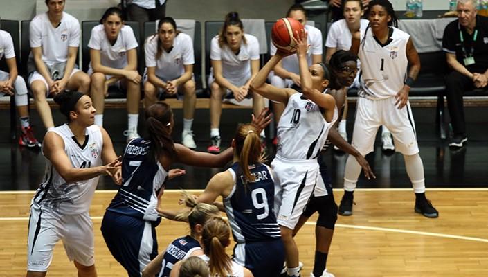 Kadın Basketbol Takımı, Yakın Doğu Üniversitesi'ne karşı mağlup!