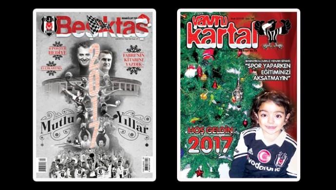 Beşiktaş Dergisi'nin Ocak sayısı çıktı