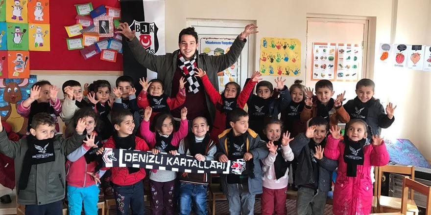 Denizli'den Diyarbakır'a Beşiktaş sevgisi...