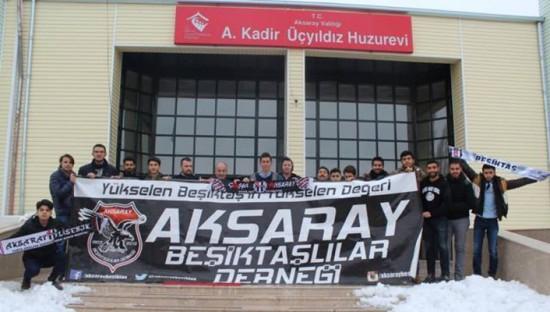 Aksaraylı Beşiktaşlılardan anlamlı etkinlik