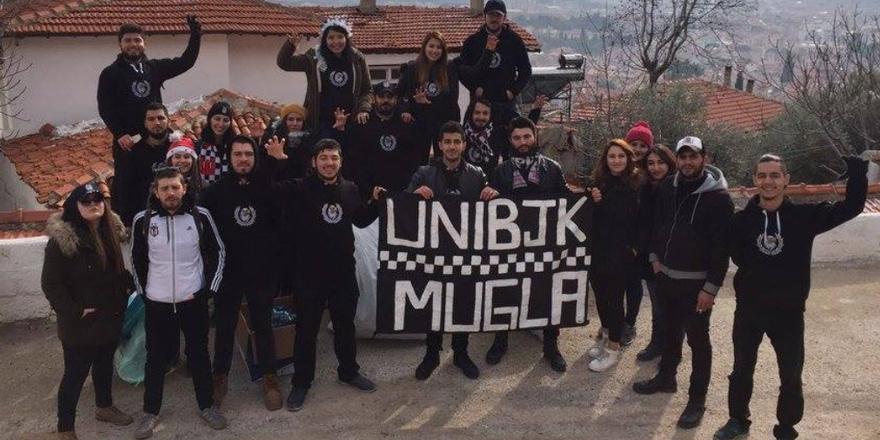 Üniversiteli Beşiktaşlılar oyuncak dağıttı