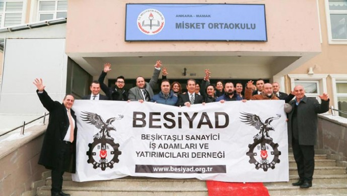 Ankara'nın Beşiktaşlı işadamları fark yaratmaya devam ediyor