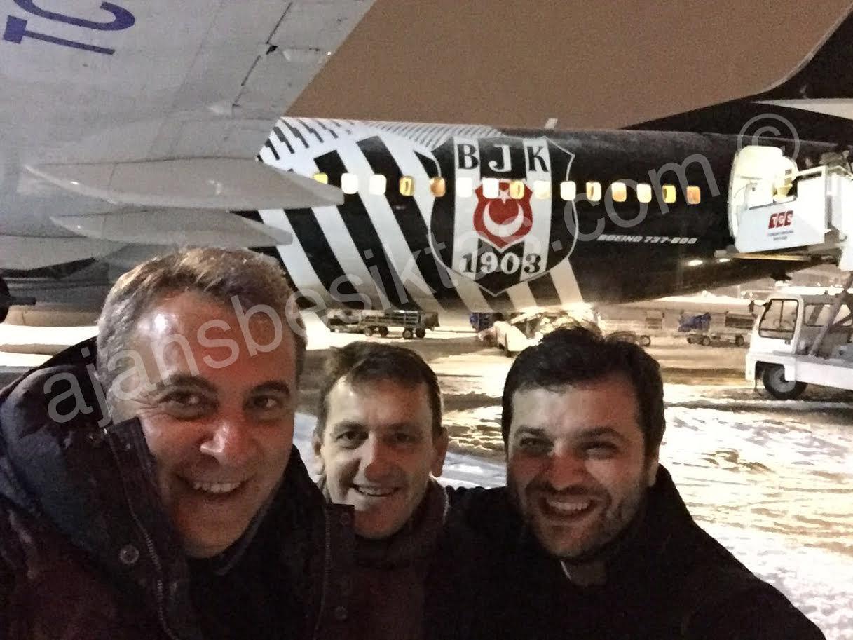 Beşiktaş İstanbul'a geldi