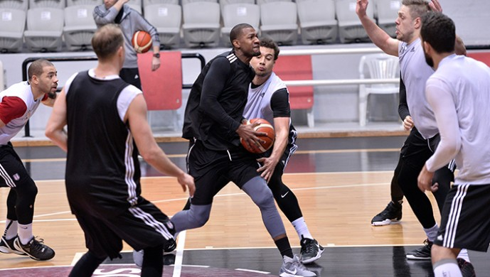 Beşiktaş'ta Dinamo Sassari hazırlıkları başladı