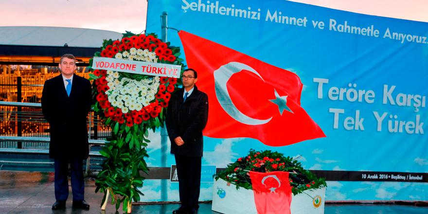''Vodafone Arena Türkiye'ye olan inancımızın somut göstergesi''
