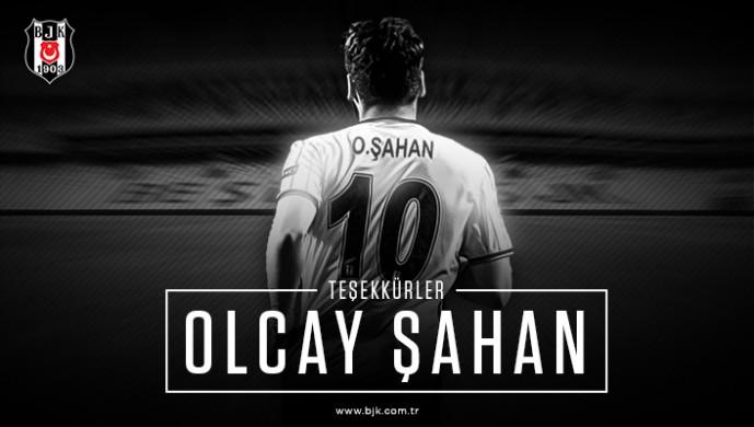 Beşiktaş'tan Olcay Şahan'a teşekkür