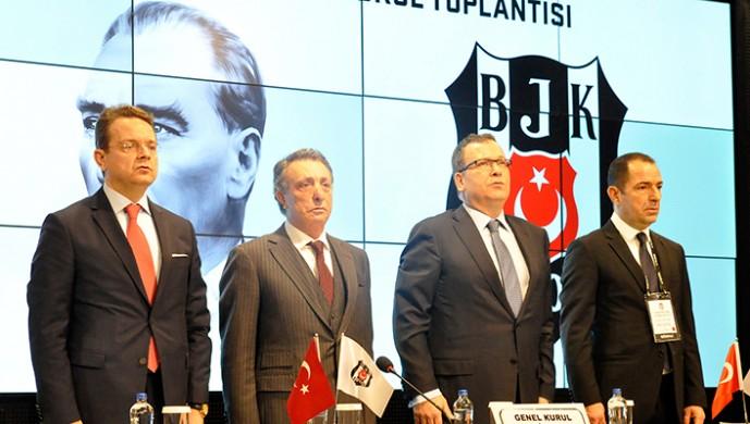 Beşiktaş'ta olağan genel kurul toplandı