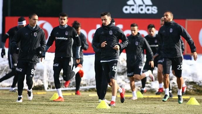 Beşiktaş taktik çalışıyor