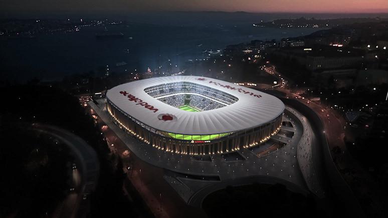 Vodafone Arena'da sanal maç!