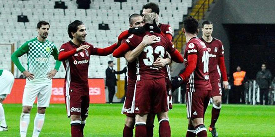 Beck'ten Beşiktaş formasıyla ilk gol