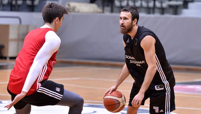 Beşiktaş'ta Anadolu Efes hazırlıkları başladı