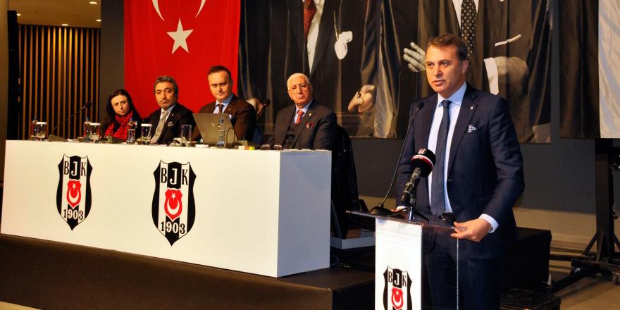 Beşiktaş'ın dernekleri Vodafone Arena'da bir araya geldi