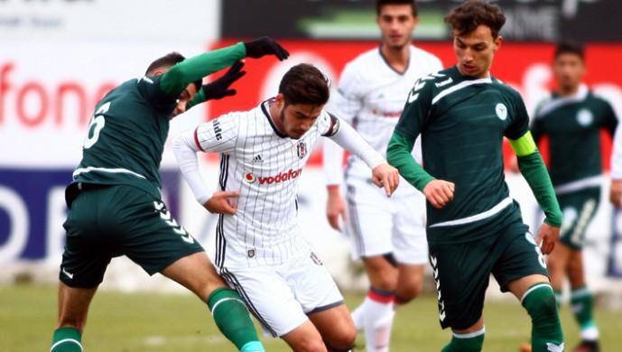 Beşiktaş U-21, Konya'yı 3 golle geçti