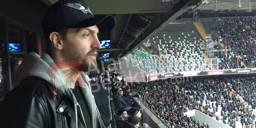 Caner Erkin de Vodafone Arena'da!