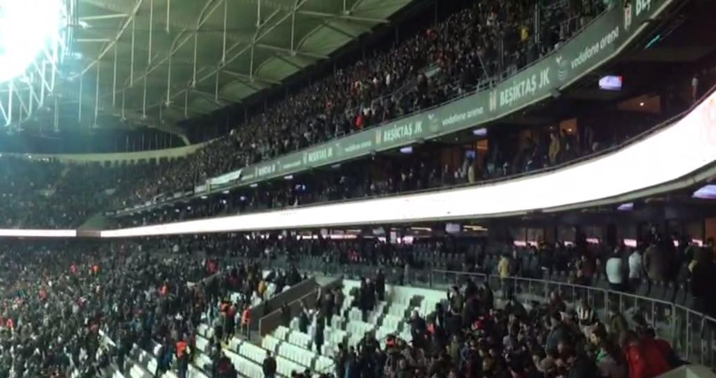 Mustafa Kemal'in askerleri Vodafone Arena'da! (VİDEO)