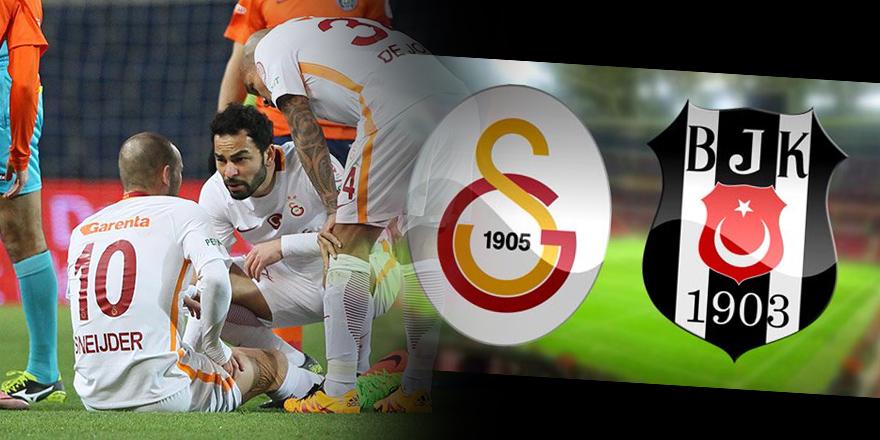 ÖZEL | Sneijder 3 hafta yok! Beşiktaş derbisine yetişmesi zor