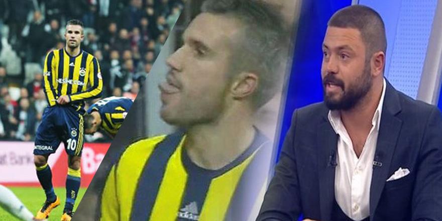 """Eski Galatasaraylı futbolcu, Van Persie'yi savundu: """"Bunlar ufak tefek şeyler!"""""""