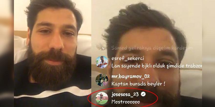 Olcay, Sosa'yı Trabzon'a çağırdı