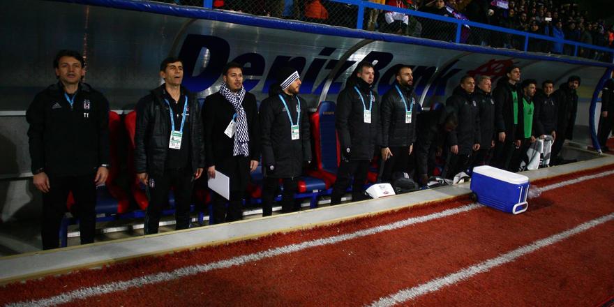 Beşiktaş 5'i kaçırdı
